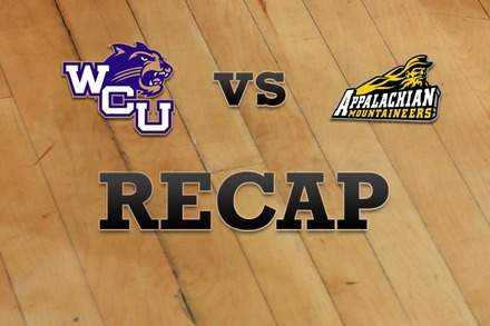 Western Carolina vs. Appalachian State: Recap and Stats