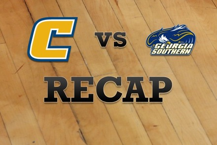 Chattanooga vs. Georgia Southern: Recap and Stats