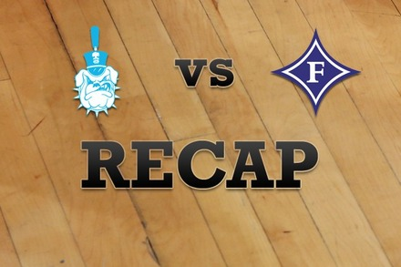 Citadel vs. Furman: Recap and Stats