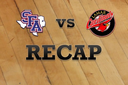 Stephen F. Austin vs. Lamar: Recap and Stats