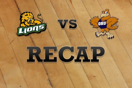 SE Louisiana vs. Oral Roberts: Recap and Stats