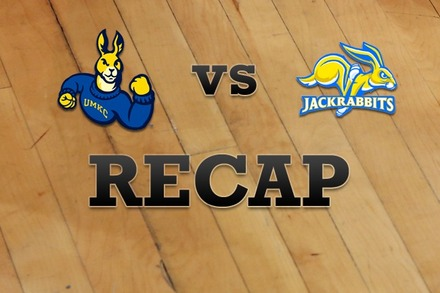 UMKC vs. South Dakota State: Recap and Stats