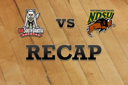 South Dakota vs. North Dakota State: Recap and Stats