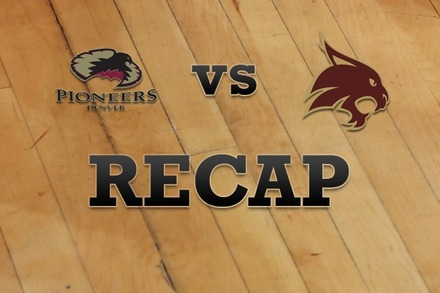 Denver vs. Texas State: Recap and Stats