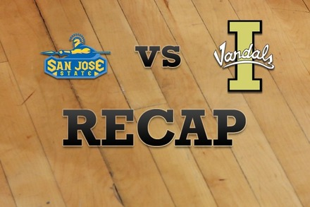 San Jose State vs. Idaho: Recap and Stats