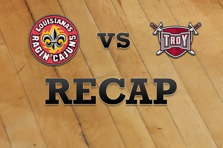 LA Lafayette vs. Troy: Recap and Stats
