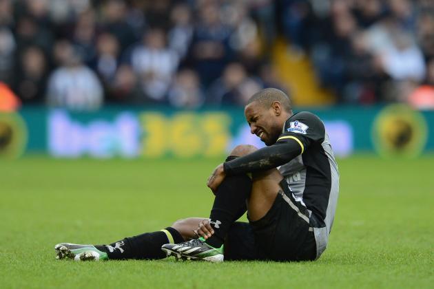Ankle Knock Rules Tottenham's Jermain Defoe out of England-Brazil Friendly