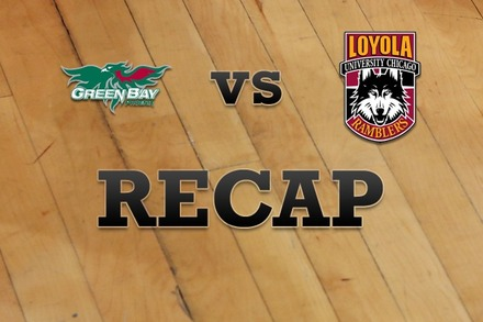 Green Bay vs. Loyola (IL): Recap and Stats