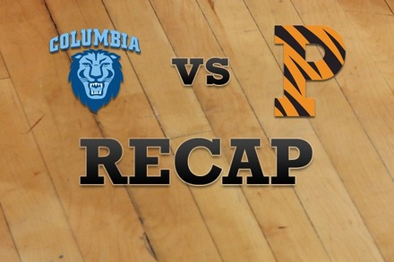 Columbia vs. Princeton: Recap and Stats