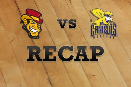 Iona vs. Canisius: Recap and Stats