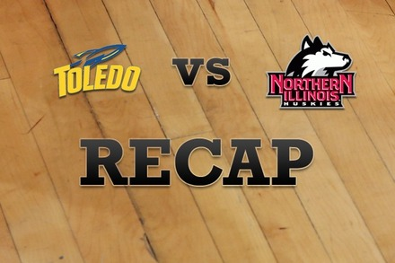Toledo vs. Northern Illinois: Recap and Stats