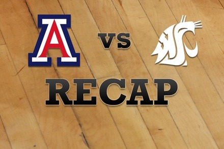 Arizona vs. Washington State: Recap and Stats