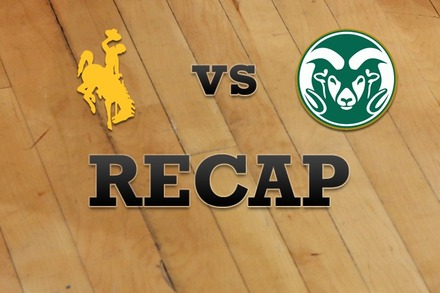 Wyoming vs. Colorado State: Recap and Stats