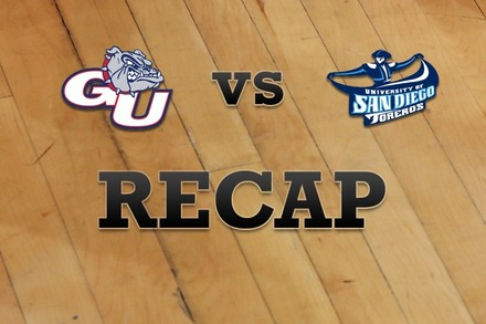 Gonzaga vs. San Diego: Recap and Stats