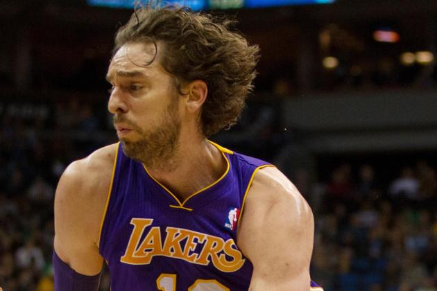 Lakers Trade Rumors: Latest Buzz on Pau Gasol to Toronto Raptors