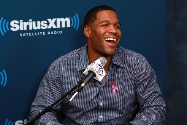 Michael Strahan: I'll get ineventually