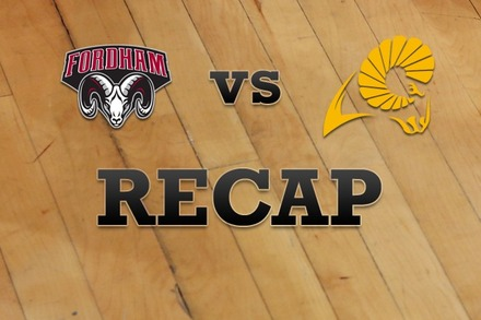 Fordham vs. VCU: Recap and Stats