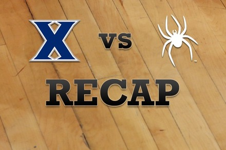 Xavier vs. Richmond: Recap and Stats