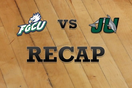 Florida Gulf Coast vs. Jacksonville: Recap and Stats