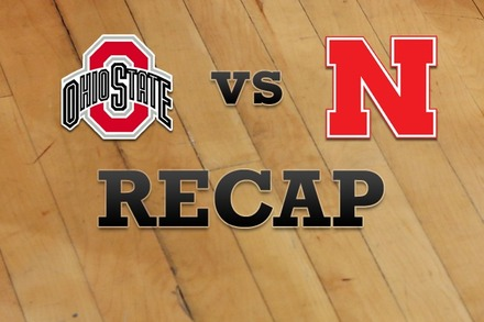 Ohio State vs. Nebraska: Recap and Stats