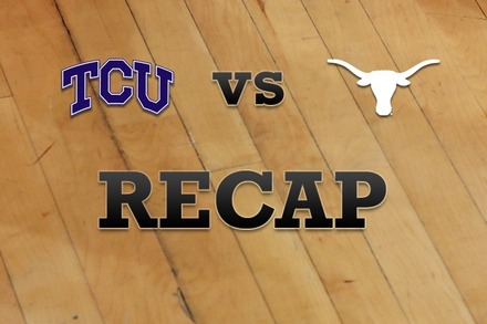TCU vs. Texas: Recap and Stats