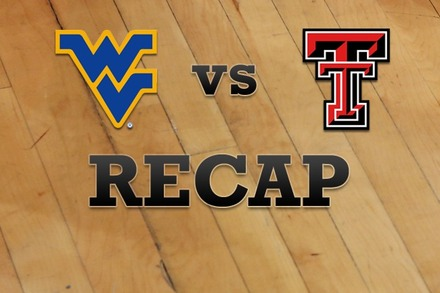 West Virginia vs. Texas Tech: Recap and Stats