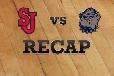 St John's vs. Georgetown: Recap and Stats