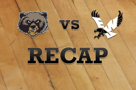 Montana vs. Eastern Washington: Recap and Stats