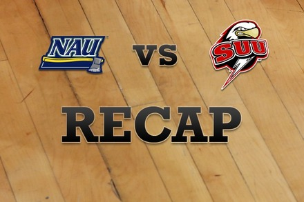 Northern Arizona vs. Southern Utah: Recap and Stats