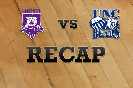 Weber State vs. Northern Colorado: Recap and Stats