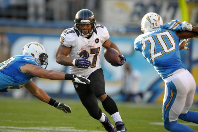 San Diego Chargers Failure to Stop Ray Rice on 4th and 29 Wins Play of the Year