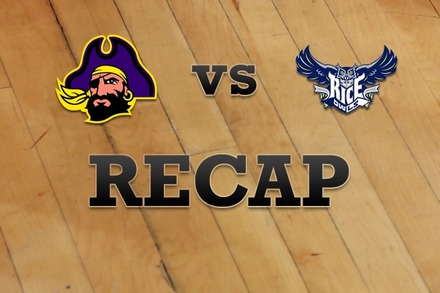 East Carolina vs. Rice: Recap and Stats