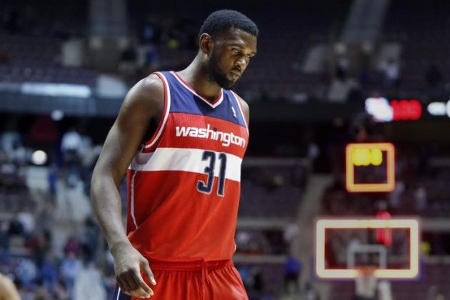 Chris Singleton Finally Gets in the Game in Wizards' Loss to Spurs