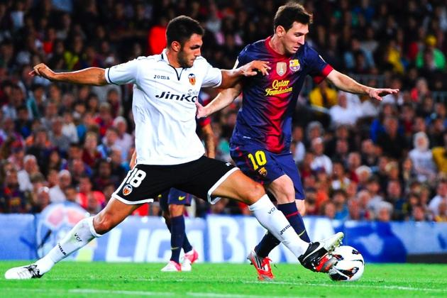 Barcelona Held to 1-1 Draw at Valencia