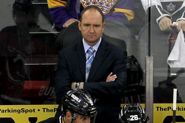 Pete DeBoer Searches for Answers as Devils Begin to Flounder