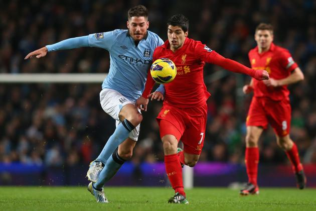 Manchester City vs. Liverpool: Running Diary of Super Sunday Suarez, Reds Clash