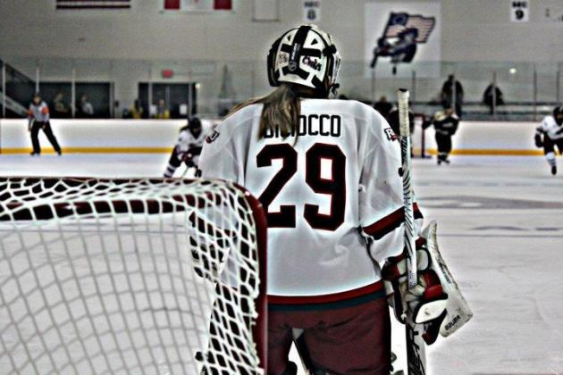 DiCiocco Still Looking for RMU Wins Record as Syracuse Sweeps Colonials