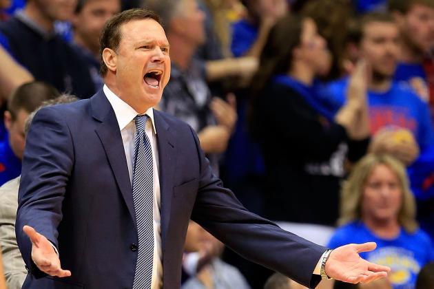 Kansas Coach Bill Self on His Team: 'Acted Like Little Babies'