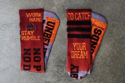 Robert Griffin III Receives Special Rookie of the Year Socks from Adidas