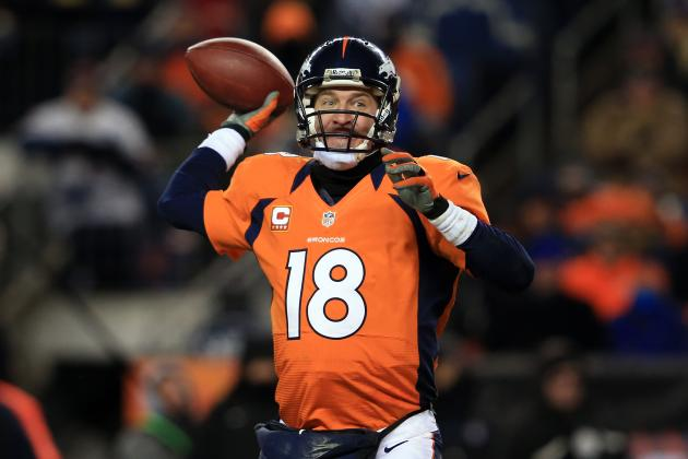 Peyton Manning's Supporting Cast Prevented Him from Winning 2012-13 NFL MVP