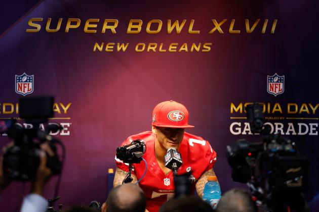 Super Bowl Point Spread: Vegas Caught Up in the Colin Kaepernick Hype