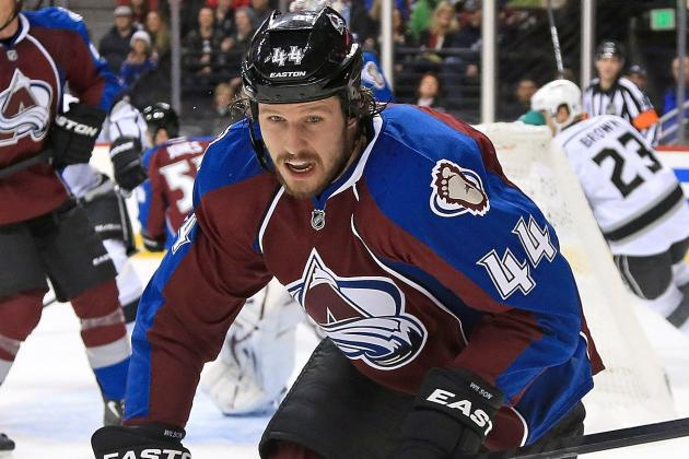 Ryan Wilson, Avalanche Defenseman, Lost to Ankle Injury