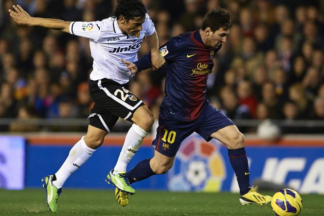 Valencia and Barcelona Play to a Thrilling 1-1 Draw