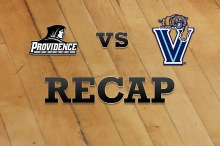Providence vs. Villanova: Recap and Stats