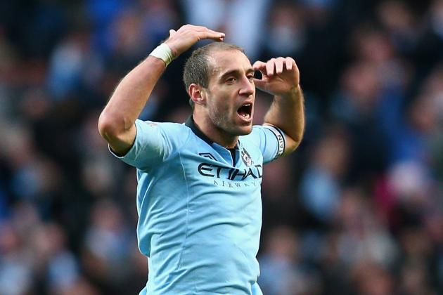 Manchester Citys Pablo Zabaleta Says Mario Balotelli Is Already Missed
