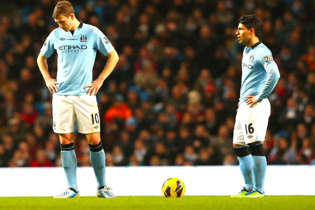 Man City Rescue Point Against Liverpool but Lose More Ground in EPL Title Race
