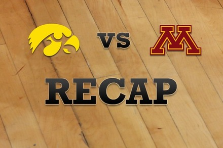 Iowa vs. Minnesota: Recap and Stats