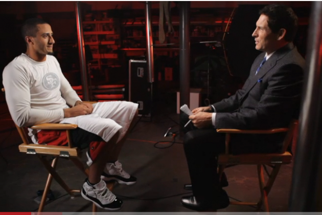 Colin Kaepernick One-on-One with Steve Young