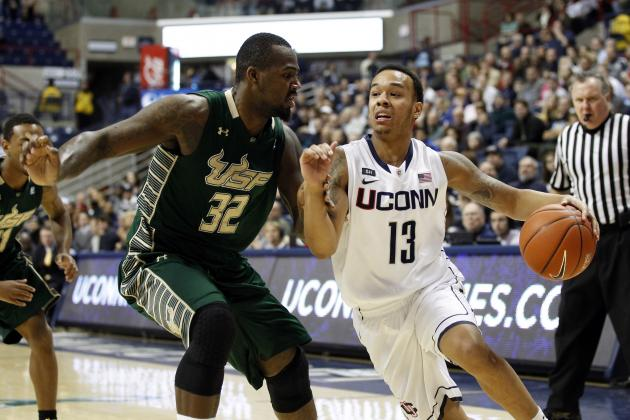 Napier Steps Up In Overtime As UConn Outlasts South Florida