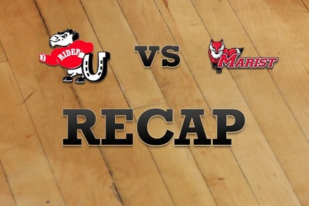 Rider vs. Marist: Recap and Stats